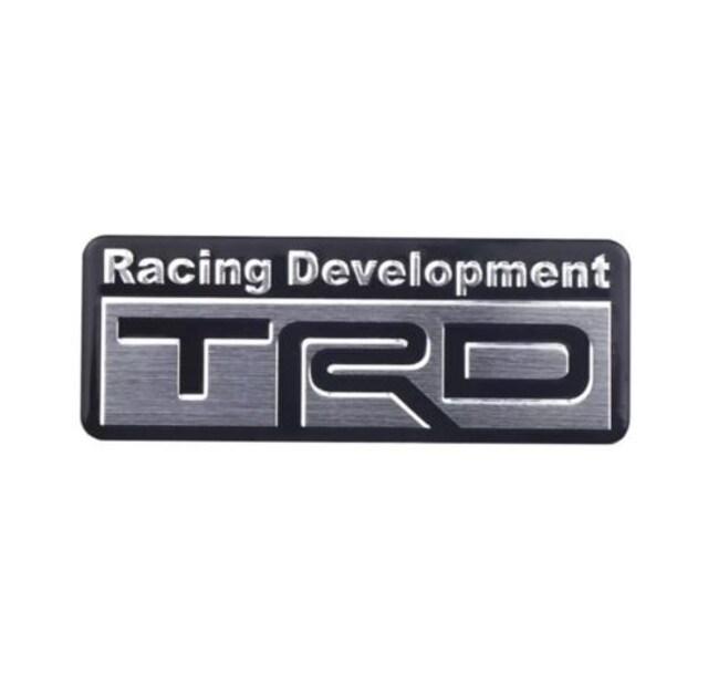 TRD/エンブレム/8�p×3�p/アルミ/BS13/1905193 < 自動車/バイク