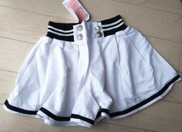 140★ANGEL LOVE★マリン風キュロットスカート★ショートパンツ★新品