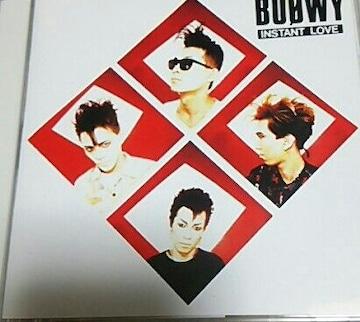 CD BOOWY INSTANT LOVE 帯あり 98年盤 氷室京介 布袋寅泰