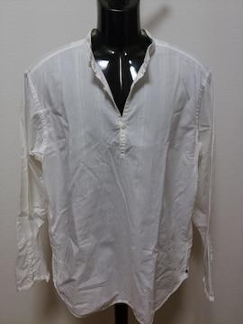 即決送料込み ギャップ 長袖シャツ スタンドカラー 大きいサイズ