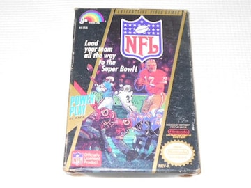 FC★NFL NATIONAL FOOTBALL LEAGUE NES 海外版