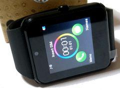【箱・USB付】Sceltech スマートウォッチ アンドロイド腕時計