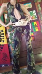 露出★迷彩ジャンプスーツ/オールインワン★ローギャルB系