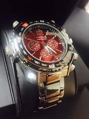1番人気色♪★重量感溢れるメンズ腕時計クラブフェイス
