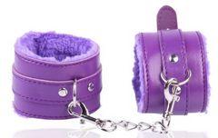 B27a SM 手枷 束縛 コスプレ 紫色 チェーン エロ 送料無料