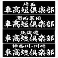 北海道 車高短倶楽部 20センチ 2枚組