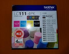 brother 純正インクカートリッジ 4色パック LC111-4PK