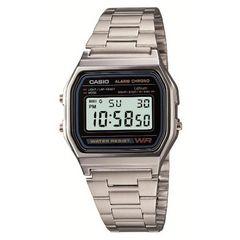 CASIO★高級感ある金属ベルトのデジタル腕時計