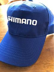 【キャップ】シマノ メッシュキャップ ブルー