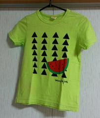 ムージョンジョン☆スイカ柄Tシャツ☆日本製☆size130