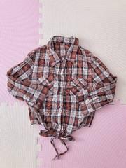 美品♪五分袖シャツ