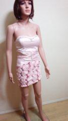 キャバ☆WINK�A☆裾コサ&スパン盛り�Aワンピドレス☆3点で即落