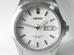 7484/SEIKOセイコー★良品/人気モデルデイデイト機能搭載メンズ腕時計
