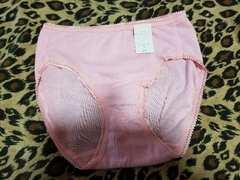 レディース 綿ショーツ Mサイズ 無地ピンク