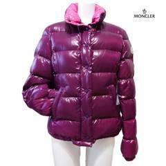 新品モンクレールMONCLERダウンジャケットバディアBADIA紫#0