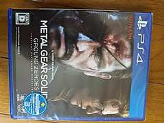 未開封シール下部開封の為新古PS4softメタルギアソリッド送料込
