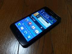 特価品!!美中古品 SC-03D Galaxy S2 ブラック LTE Xi