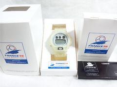 4499/CASIOカシオ★G-SHOCKFRANCE98FIFAワールドカップ未使用品DW-6900