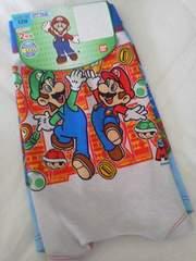 #新品#スーパーマリオ 2枚組パンツ  120 ★★