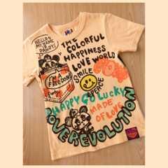 *LOVEREVOLUTION*ラブレボ*気ままにパンディTシャツ*オレンジ*140�a*