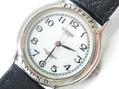 8943/KRONEラウンドフェイスクラシカルメンズ腕時計アラビア数字インディックス