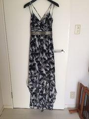 BCBG ロングドレス アシメトリー size2