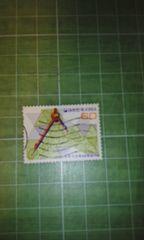 韓国記念使用済切手w60コンパス(1982年)