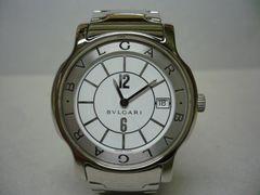 ブルガリ  美品  ソロテンポ  メンズ  時計