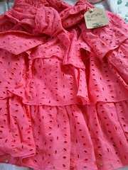 ☆新品タグ付き☆フレアスカート☆サーモンピンク色
