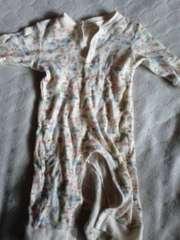 80カバーオール薄手長袖パジャマ