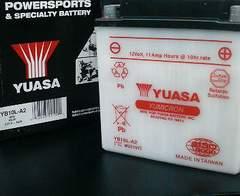 新発売GS400GS400E新品YUASAバッテリー
