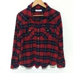 #Right-onチェックシャツ L
