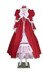 黒執事 エリザベス ミッドフォード 赤い礼服 コスプレ衣装