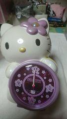 キティ 目覚まし時計