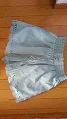 淡いグリーンスカート【Mサイズ】
