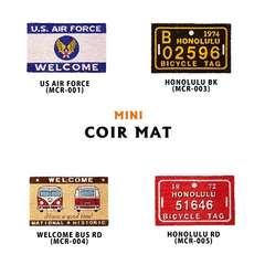 玄関マット ミニ コイヤーマット  アメリカン 雑貨 MCR-mini1