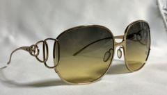 正規良レア クリスチャンロスCHRISTIAN ROTH 3連オーバルリング メタルサングラス金