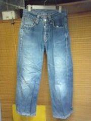リーバイス902シンチベルト付デカポケットジーンズ