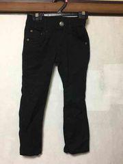 子供服/黒/ブラック/パンツ/ロングパンツ/110cm