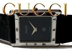 正規 1スタ★グッチ/GUCCI 4200SM【銀製/スターリング】腕時計