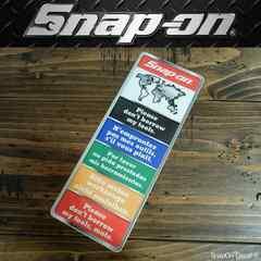 【送料無料】スナップオン Snap-on ステッカー クローム/ S8