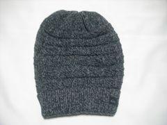 mb185 男 QUIKSILVER クイックシルバー ニット帽 グレー