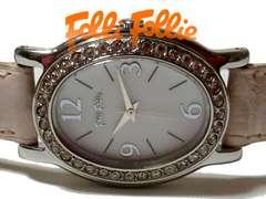 美品 1スタ★フォリフォリ【ジルコニア】美しい腕時計