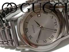 正規【良品】1スタ グッチ/Gucci 5500M 定価14万 メンズ 腕時計