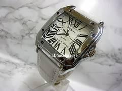 新品 腕時計 シルバー ホワイト/カルティエ好きに