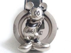 6029/ミッキーマウスデザイン可愛い立体的レディース腕時計格安出品