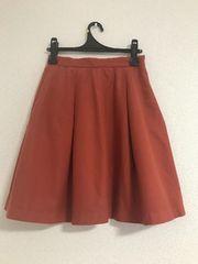 フリーズマート  オレンジ  スカート