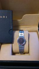 新品同様ブルガリ時計正規ブティック購入