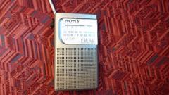 SONYのAM ワイドFM対応ラジオ