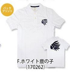 カリホリ『Cali Holi』F-170262/半袖ポロシャツ/ホワイト/XXL